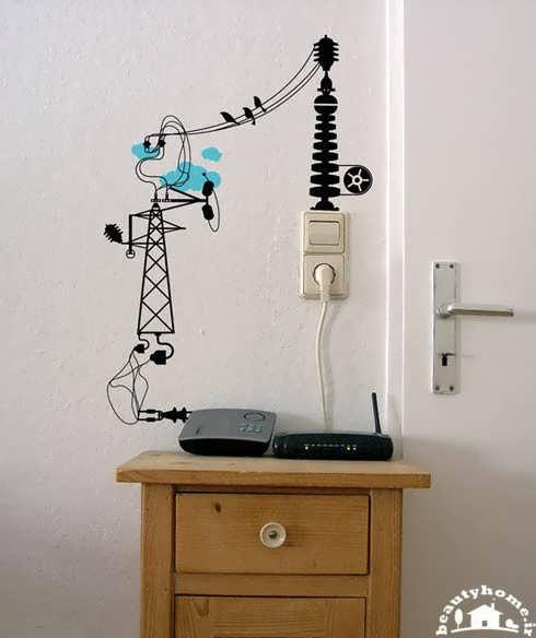 نقاشی و طراحی روی دیوار با ایده ها جدید و زیبا