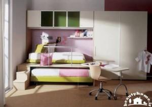 اتاق خواب دخترانه شیک و جذاب