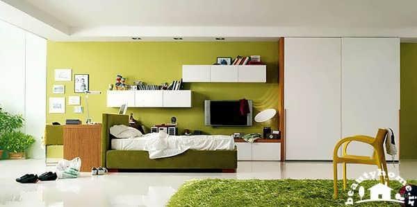 اتاق خواب دخترانه مدرن و جدید