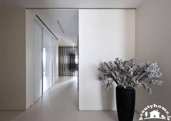 دکوراسیون سیاه و سفید برای خانه های مدرن