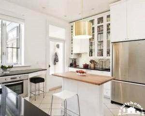 مدل کابینت سفید با طراحی زیبا و شیک