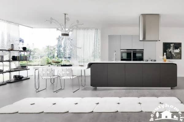 طراحی دکوراسیون آشپزخانه اروپایی مدرن و جدید 2013