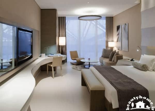 طراحی داخلی هتل مدرن و شیک 2013