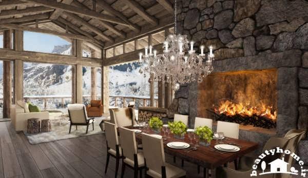 طراحی داخلی هتل مدرن سلطنتی