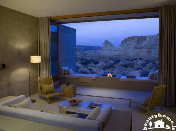 طراحی داخلی هتل مدرن و شیک