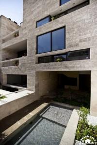 معماری خارجی ساختمان ایرانی در اصفهان
