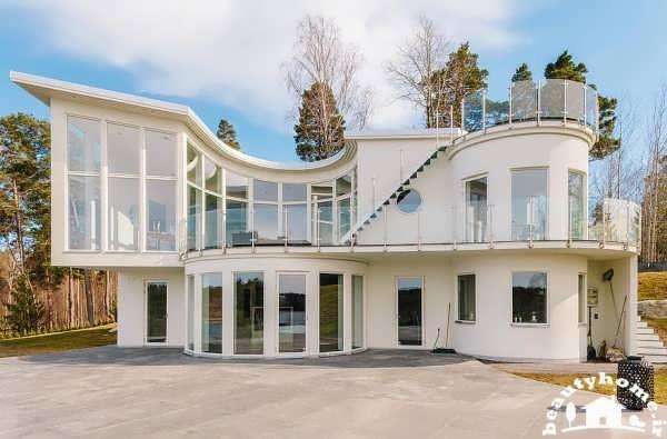 طراحی زیبا معماری خارجی و معماری داخلی خانه