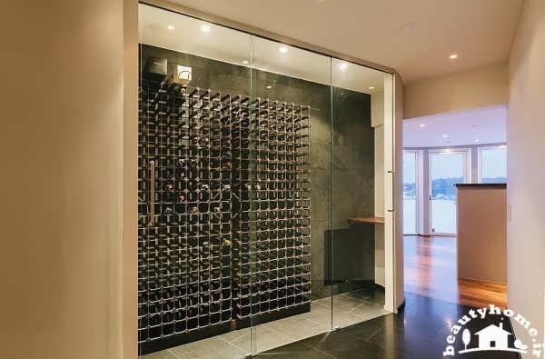 معماری داخلی خانه با طراحی فوق مدرن