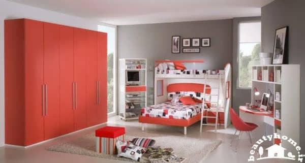 دکوراسیون اتاق خواب دخترانه دوست داشتنی