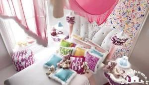 دکوراسیون اتاق خواب دخترانه دوست داشتنی مدرن