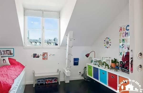 دکوراسیون داخلی منزل شیک و رنگی