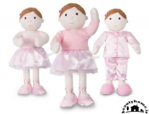 سیسمونی نوزاد و عروسک سیمونی صورتی