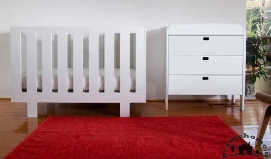 مدل تخت و کمد نوزاد با طراحی شیک و زیبا