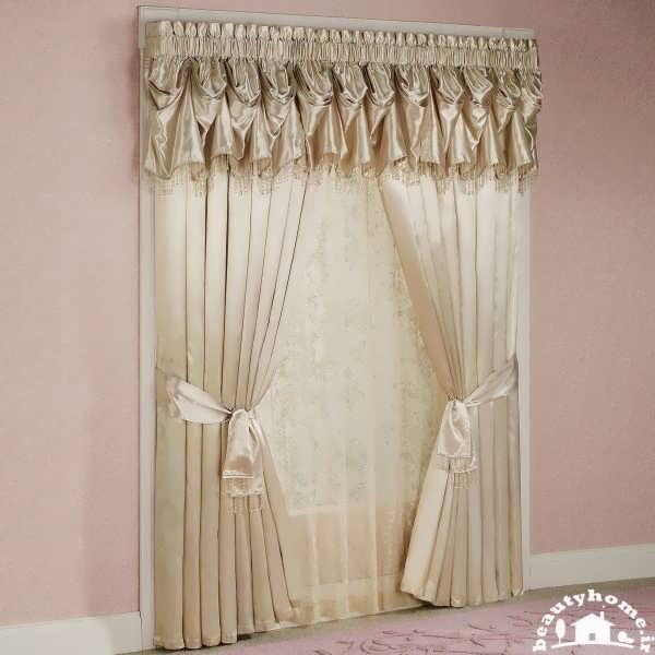 مدل پرده ساده و شیک برای اتاق خواب