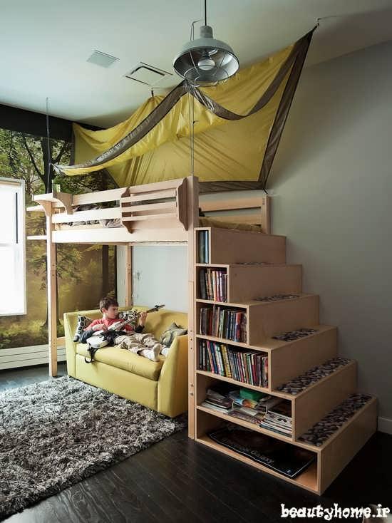 دکوراسیون اتاق خواب کودک و نوجوان