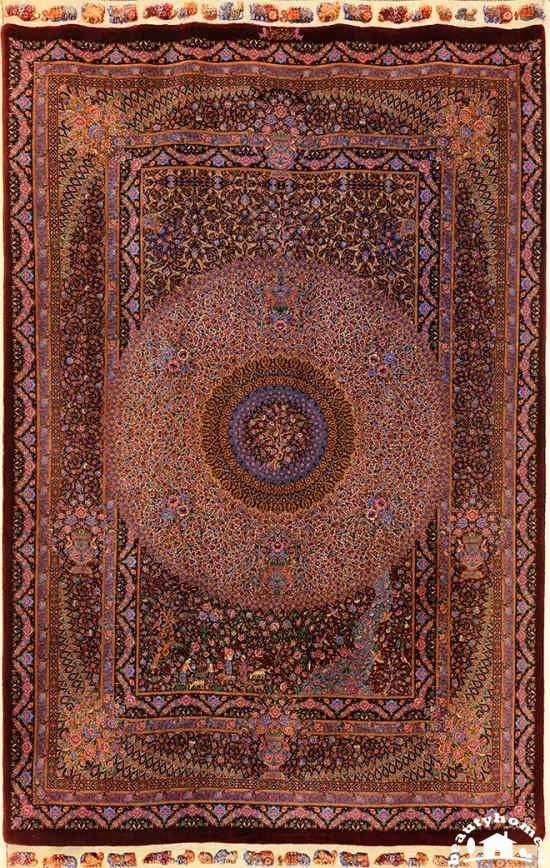 مدل فرش ایرانی شیک و مدرن