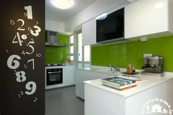نمای داخلی منزل کوچک