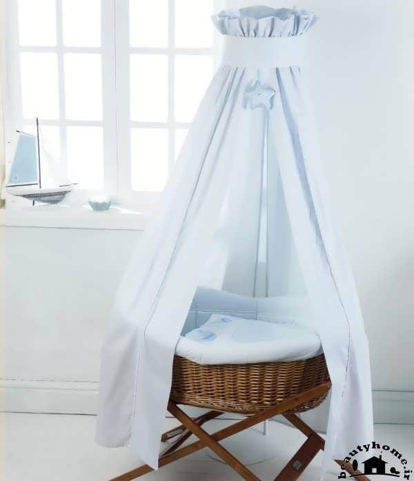 تزئین تخت سیسمونی نوزاد پسر