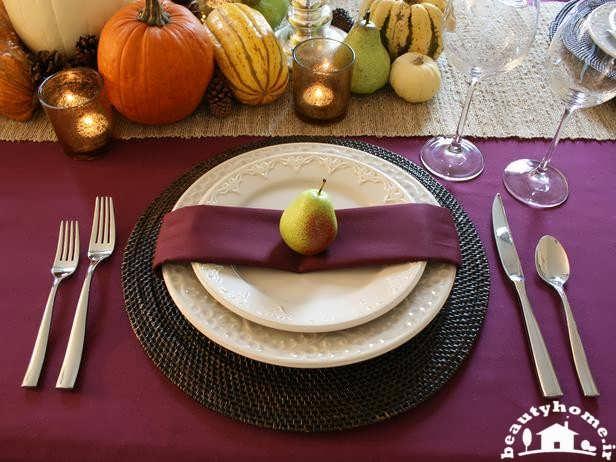 تزئین میز غذاخوری