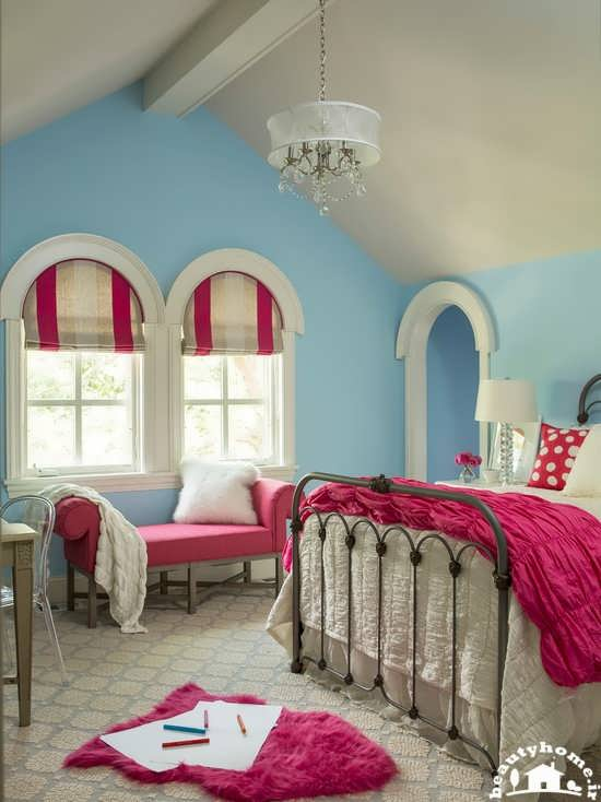 دیزاین اتاق دخترانه