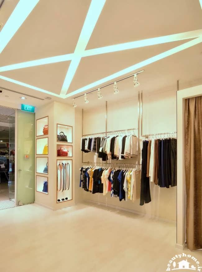 دکوراسیون فروشگاه لباس زنانه