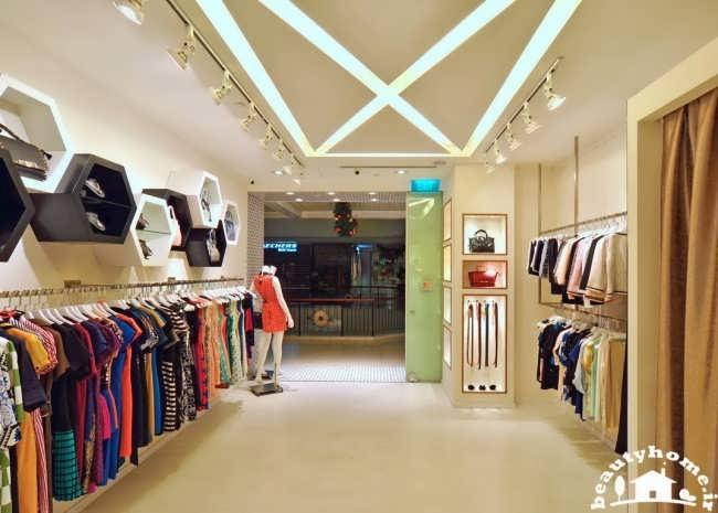 D Fashion Beauty Supply: طراحی دکوراسیون فروشگاه لباس زنانه شیک و با کلاس