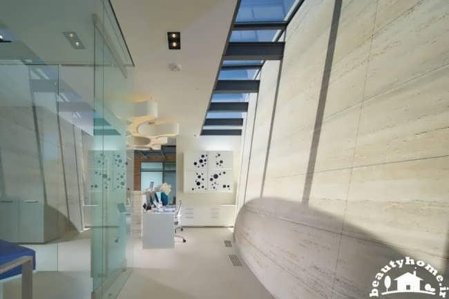 طراحی نمای مدرن ساختمان
