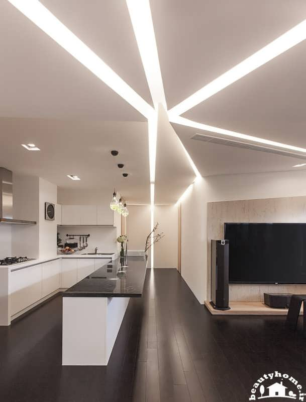 معماری داخلی مدرن
