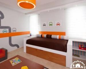 دکوراسیون اتاق خواب پسر بچه