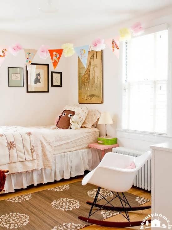 دکوراسیون اتاق دخترانه شاد