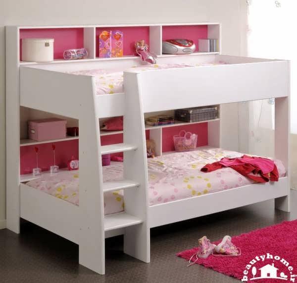 تخت خواب دو طبقه کودک