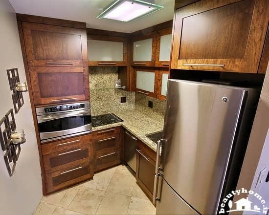دکوراسیون داخلی آشپزخانه های کوچک