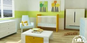 دیزاین اتاق نوزاد