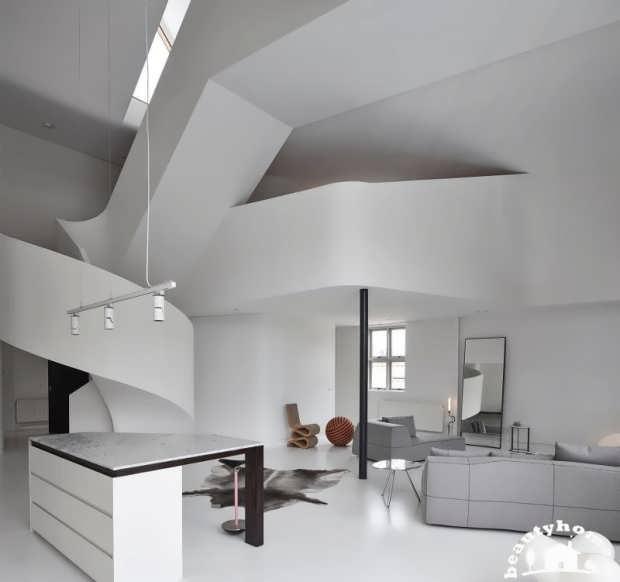 معماری داخلی خانه ای در استرالیا