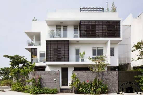 نمای آپارتمان دو، سه و چهار طبقه