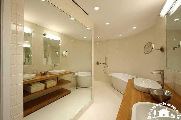 نمای داخلی حمام
