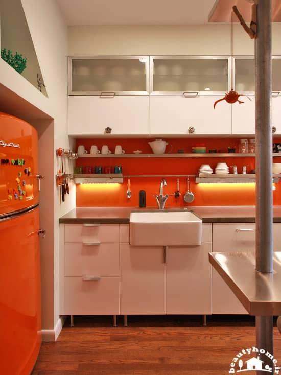 دکوراسیون آشپزخانه شیک