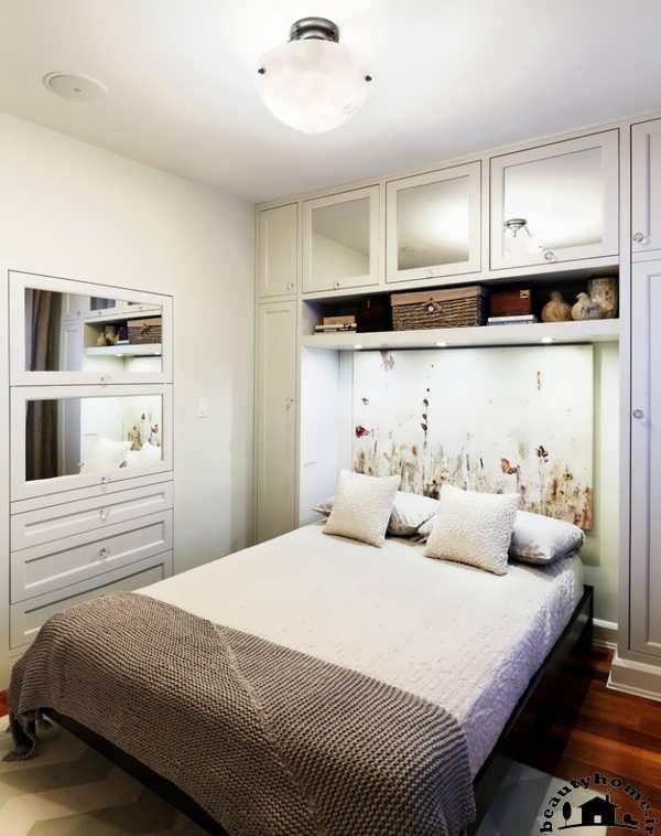 عکس دکوراسیون اتاق خواب کوچک