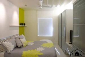 دکوراسیون اتاق خواب شاد و زیبا