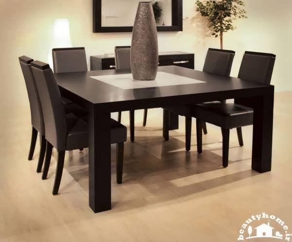 میز نهارخوری 2014 چوبی