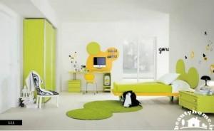 دکوراسیون داخلی اتاق کودک شاد و زیبا