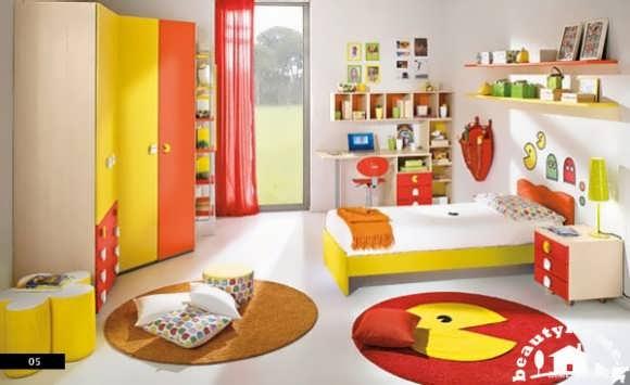 دکوراسیون داخلی اتاق کودک رنگی و شاد