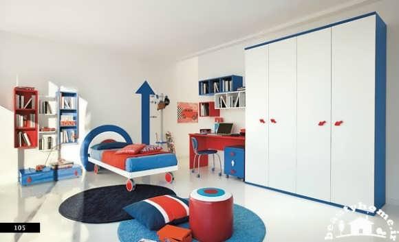 دکوراسیون داخلی اتاق کودک رنگی