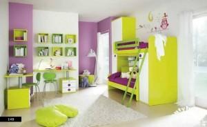 دکوراسیون داخلی اتاق کودک شاد و جذاب