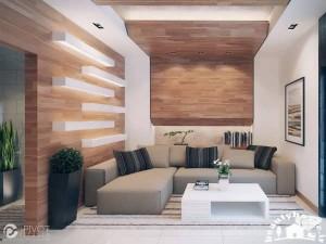 دکوراسیون داخلی اتاق پذیرایی کوچک