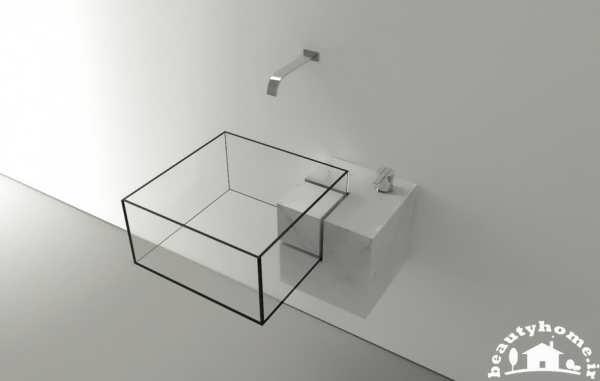 مدل سینک روشویی شیشه ای