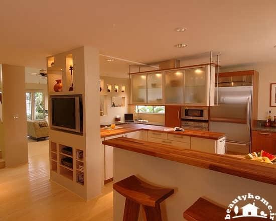 دکوراسیون آشپزخانه اُپن