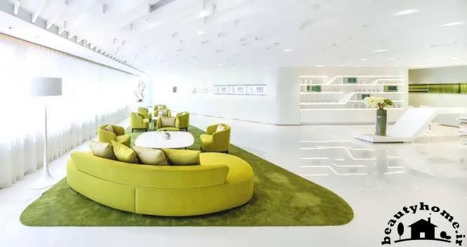 دکوراسیون داخلی شرکت سبز