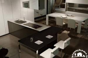 دکوراسیون آشپزخانه مینیمال