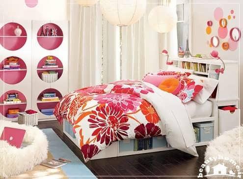 دکوراسیون اتاق خواب نوجوان دخترانه